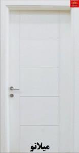 درب اتاقی اچ دی اف ( HDF ) طرح میلانو
